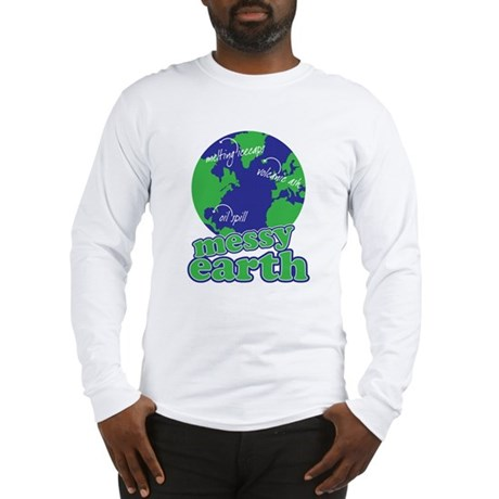 messy earth Long Sleeve T-Shirt