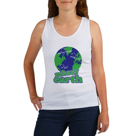 messy earth Women's Tank Top