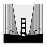 Bay Bridge Tile Coaster