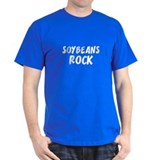 Soybeans Rock Black T-Shirt
