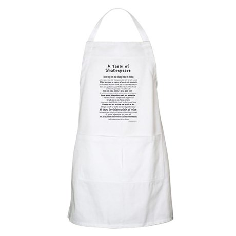 Taste of Shakespeare Apron