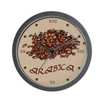 Arabica Coffee Wall Clock