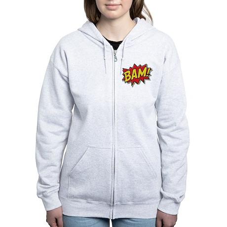 Bam! Women's Zip Hoodie