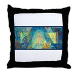 Mayahuel Mural Throw Pillow