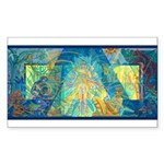 Mayahuel Mural Rectangle Sticker