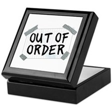 Out of Order Keepsake Box