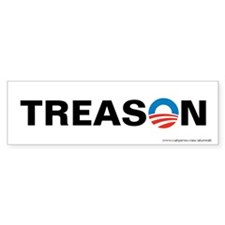 Obama - Treason, Bumper Sticker
