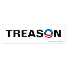 Obama - Treason, Bumper Sticker