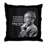 Old Age Spirit of Childhood Throw Pillow