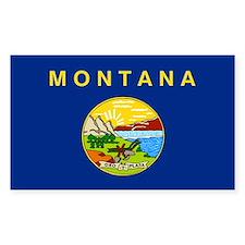 Montana State Flag Decal