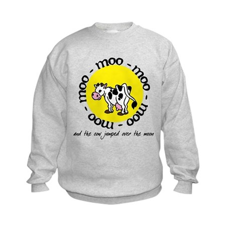 over the moon Kids Sweatshirt