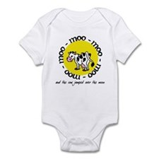 over the moon Infant Bodysuit