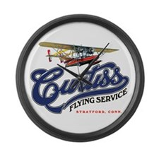 Curtiss Flying Service S-38 Large Wall Clock