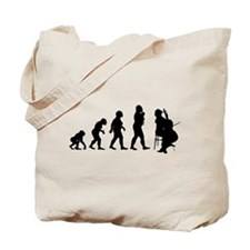 Cello Player Tote Bag
