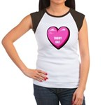 I Love My Tabby Cat Women's Cap Sleeve T-Shirt
