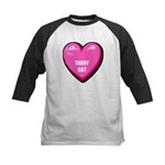 I Love My Tabby Cat Kids Baseball Jersey