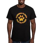 Mastiff Men's Fitted T-Shirt (dark)