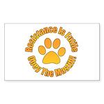 Mastiff Sticker (Rectangle 50 pk)