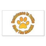 Mastiff Sticker (Rectangle)