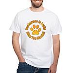 Mastiff White T-Shirt