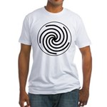 Galactic Library Institute Emblem Fitted T-Shirt