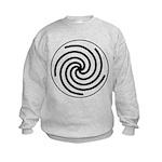 Galactic Library Institute Emblem Kids Sweatshirt