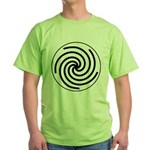 Galactic Library Institute Emblem Green T-Shirt