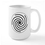 Galactic Library Institute Emblem Large Mug