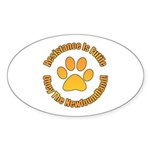 Newfoundland Sticker (Oval 50 pk)