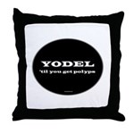 Yodel Throw Pillow