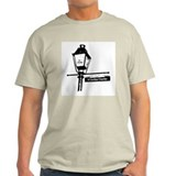 New Orleans lampost Ash Grey T-Shirt