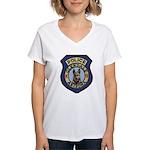 Glendale Police K9 Women's V-Neck T-Shirt