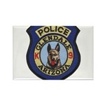 Glendale Police K9 Rectangle Magnet (100 pack)