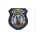 Glendale Police K9 Postcards (Package of 8)