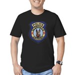 Glendale Police K9 Men's Fitted T-Shirt (dark)