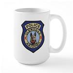Glendale Police K9 Large Mug