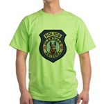 Glendale Police K9 Green T-Shirt