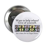 Give of Yourself 2.25&quot; Button (10 pack)