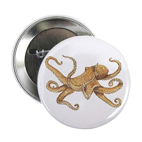 "Octopus 2.25"" Button (10 pack)"