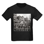 Mardi Gras Kids Dark T-Shirt