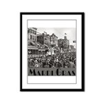 Mardi Gras Framed Panel Print