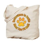 Pit Bull Tote Bag