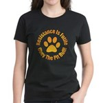 Pit Bull Women's Dark T-Shirt