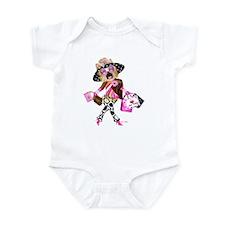 I Love New Yorkie! Infant Bodysuit