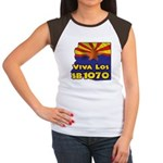 Viva Los SB1070 Women's Cap Sleeve T-Shirt