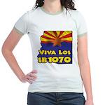 Viva Los SB1070 Jr. Ringer T-Shirt