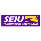 SEIU - Terrorizing Americans, Car Sticker
