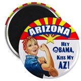 Kiss My AZ 2.25&quot; Magnet (100 pack)