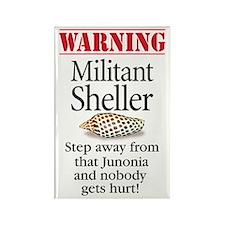 Militant Sheller Rectangle Magnet