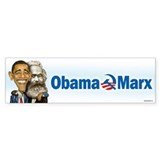 Obama Marx (re-release) Bumper Sticker